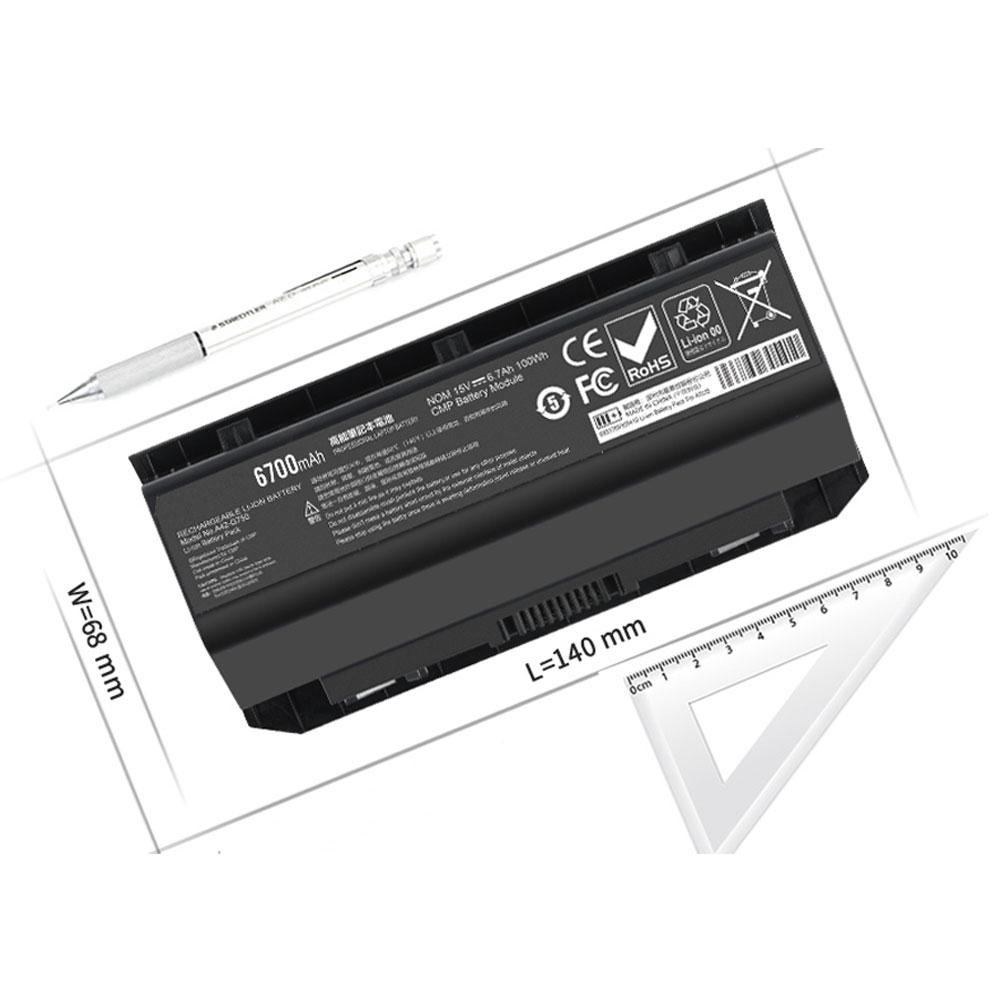 A42-G750notebook akku