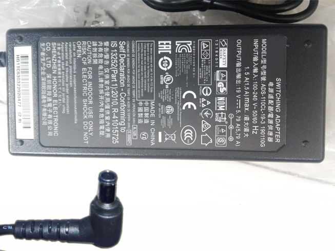 19V - 5.79A, 110W LG Laptop AC Adapter