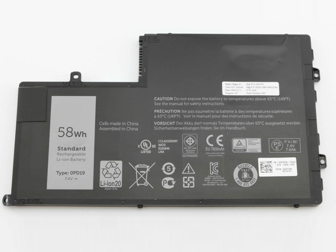 Dell Inspiron 15 5547notebook akku