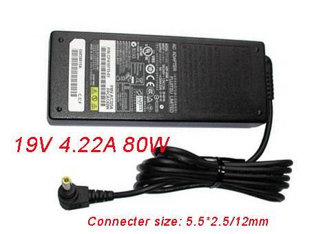 19V(19V)   4.22A(4,22A) 80W fujitsu Laptop AC Adapter
