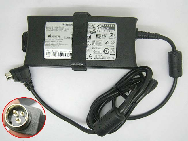 24V 3.75A, 90W ResMed Laptop AC Adapter