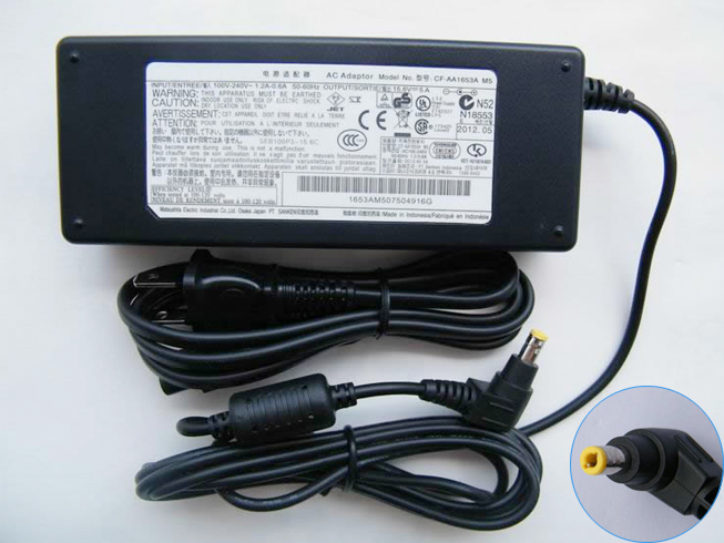 15.6V 5A 78W Panasonic Laptop AC Adapter