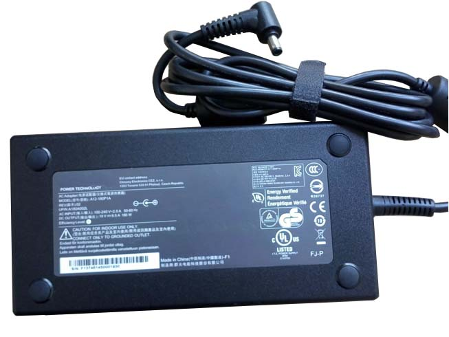 19.5V 9.2A 180W MSI Laptop AC Adapter