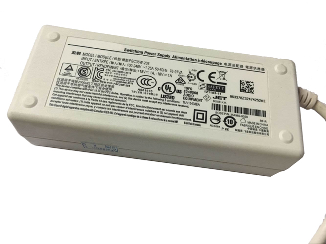 18V,1A,18w Bose Laptop AC Adapter