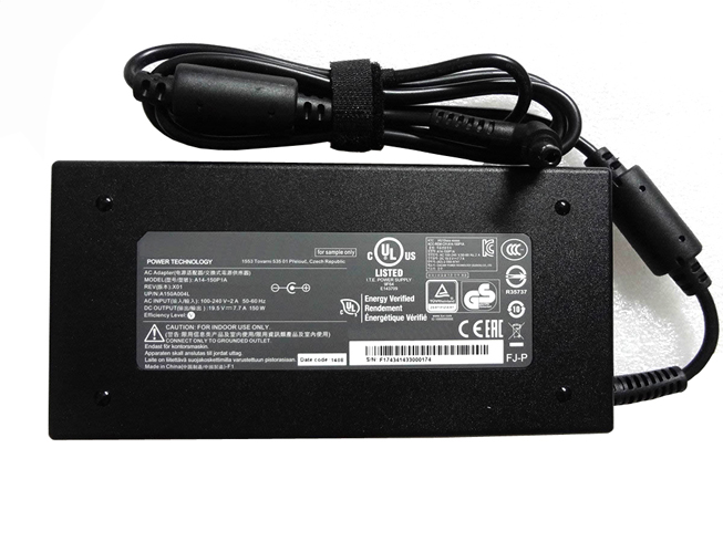 19.5V   7.7A, 150W MSI Laptop AC Adapter