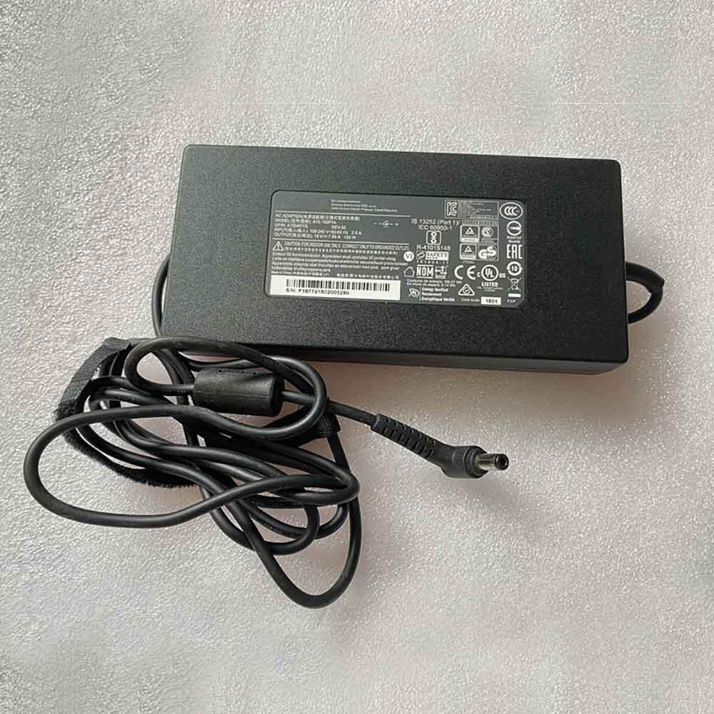 19V 7.89A, 150W Razer Laptop AC Adapter