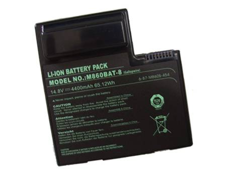 6-87-M860S-454notebook akku