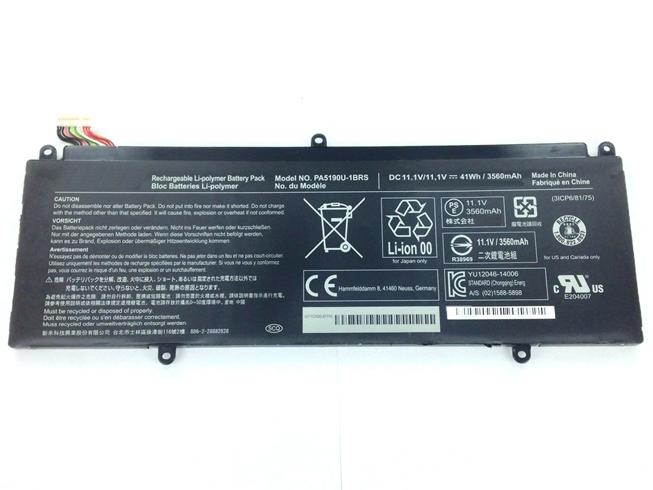 11.1V Toshiba AKKUS