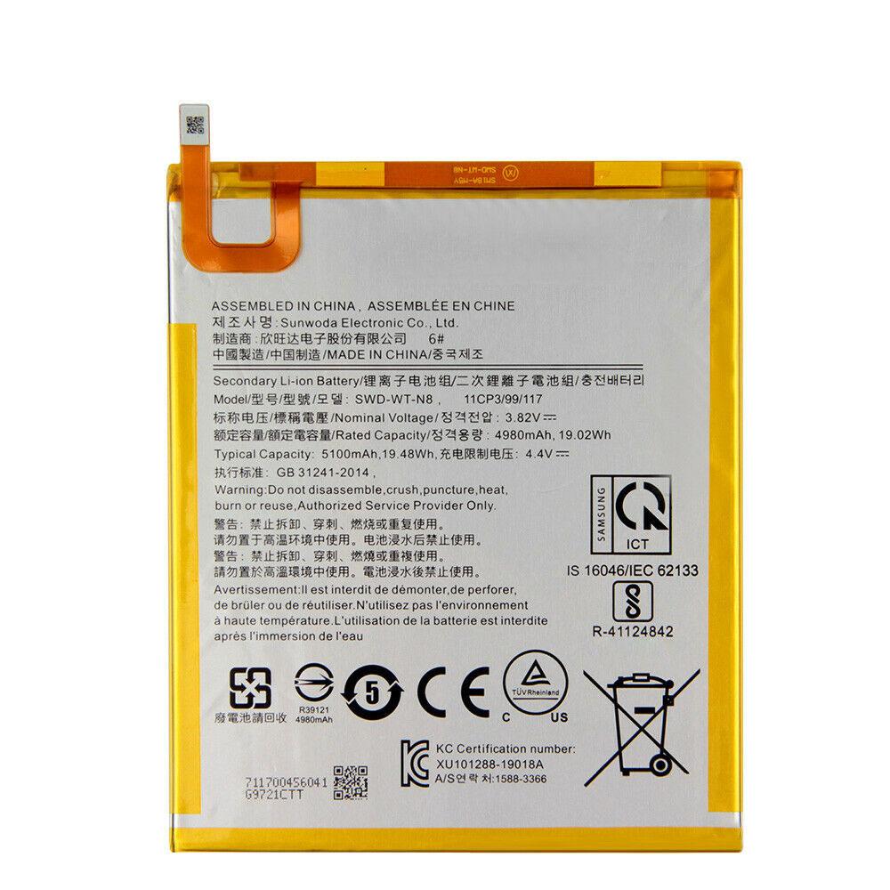 3.82V/4.4V Samsung AKKUS